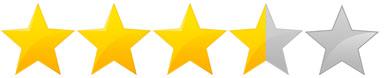 Risultati immagini per tre stelle e mezzo