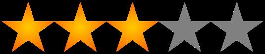 3 stelle