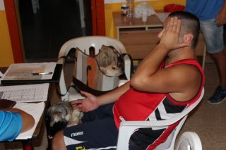 Briciola consiglia le mosse ad Armando per il suo Capolarita.